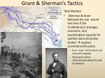 grant sherman s tactics
