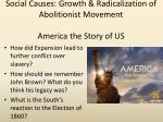 social causes growth radicalization of abolitionist movement america the story of us