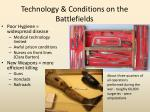 technology conditions on the battlefields