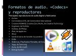formatos de audio codecs y reproductores16