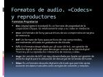 formatos de audio codecs y reproductores9