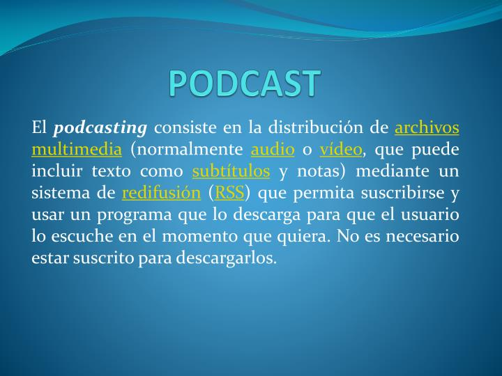 podcast n.
