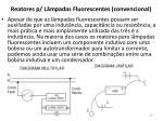 reatores p l mpadas fluorescentes convencional