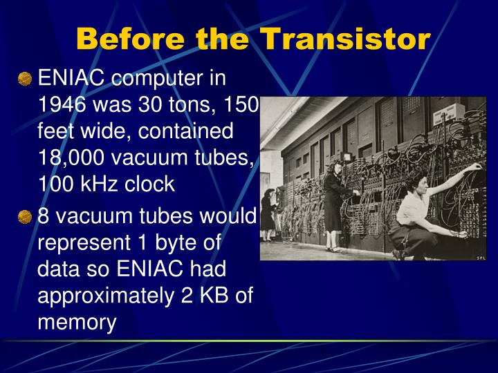 Before the transistor1
