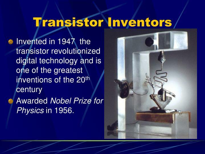 Transistor inventors