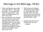 marriage in the bible pgs 78 81