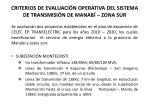 criterios de evaluaci n operativa del sistema de transmisi n de manab zona sur1
