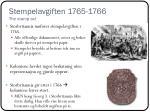 stempelavgiften 1765 1766 the stamp act