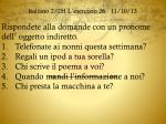 italiano 2 2h l esercizio 26 11 10 13