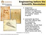 engineering before the scientific revolution1