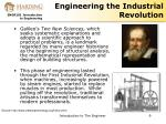 engineering the industrial revolution