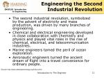 engineering the second industrial revolution