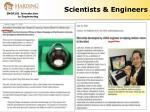 scientists engineers