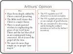 arthurs opinion1
