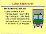 labor legislation4