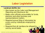 labor legislation5