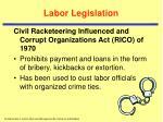 labor legislation7