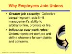 why employees join unions1