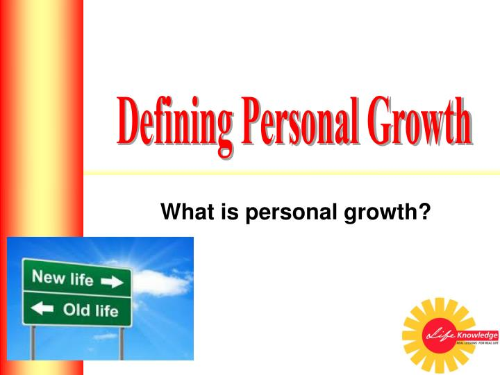 what is personal growth n.