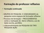 forma o do professor reflexivo2