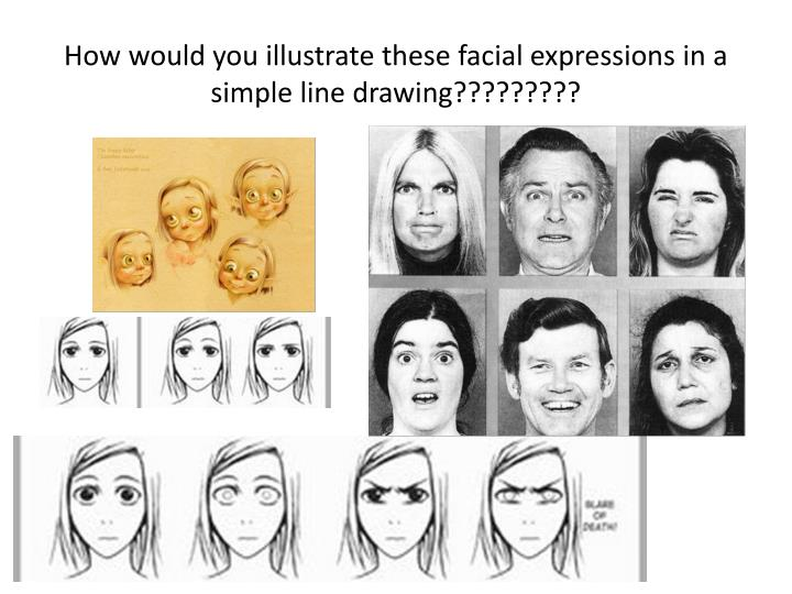 Line Drawings Of Facial Expressions : Ppt zen art is due completed on friday at the beginning