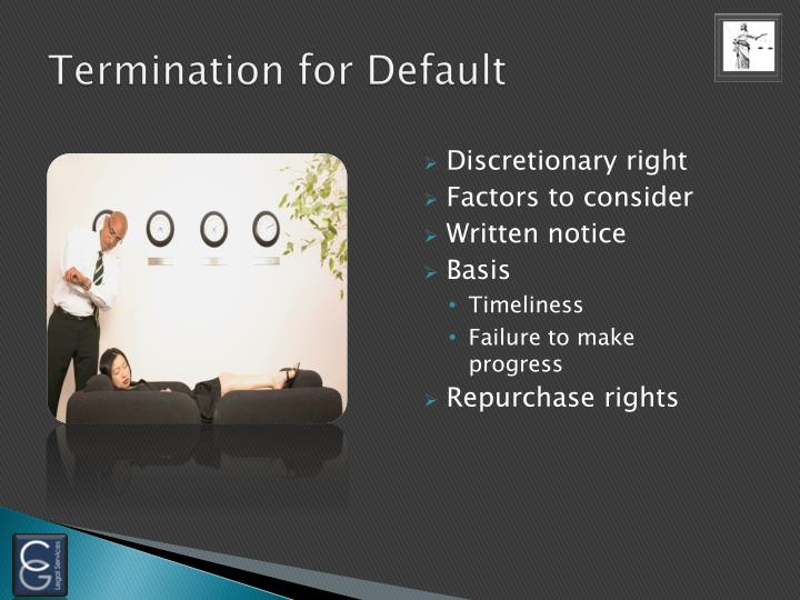 Termination for Default