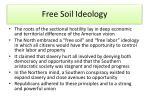 free soil ideology