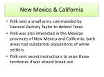 new mexico california