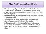 the california gold rush1