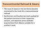 transcontinental railroad slavery