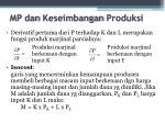 mp dan keseimbangan produksi1