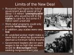 limits of the new deal1