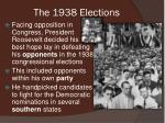the 1938 elections