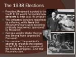 the 1938 elections1