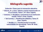 bibliograf a sugerida