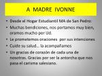 a madre ivonne