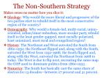 the non southern strategy
