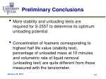 preliminary conclusions2