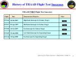 history of thaad flight test successes2
