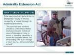 admiralty extension act