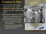 timeline to war3