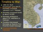 timeline to war4