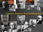 vietnam road to the american war