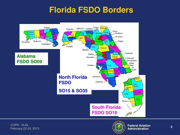 Florida fsdo borders