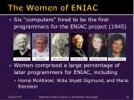 the women of eniac