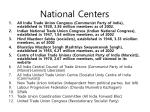 national centers