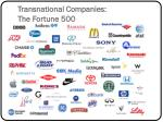 transnational companies the fortune 500