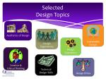 selected design topics