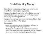 social identity theory2