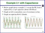 example 2 1 with capacitance